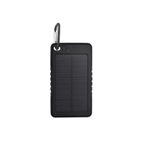 6000mAh outdoor solar power bank waterproof shockproof dustproof portable charger