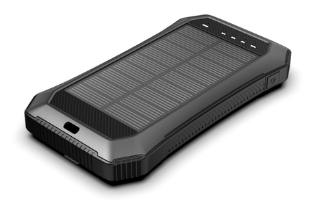ES986S Solar Power Bank with Led Flashlight Portable 15000 mah Waterproof Solar Power Bank