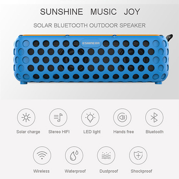 Our own patented Solar bluetooth speaker pushed to the market like hot bread!